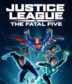 فيلم Justice League vs the Fatal Five 2019 مترجم