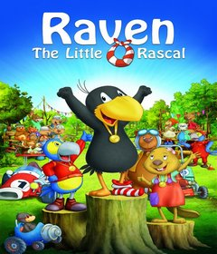 فيلم Raven The Little Rascal – The Big Race 2012 مدبلج