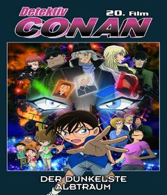 فيلم Detective Conan: The Darkest Nightmare 2016 مدبلج