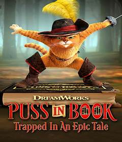فيلم Puss in Book: Trapped in an Epic Tale 2017 مدبلج